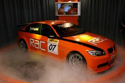 BTCC, Team RAC, BMW 320i, Car Presentationn