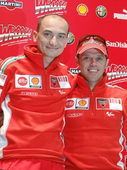 Press conference: Claudio Domenicali and Loris Capirossi
