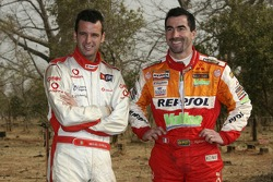 Miguel Barbosa and Luc Alphand