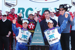 DP Podium: Winners Scott Pruett, Juan Pablo Montoya, Salvador Duran
