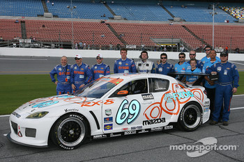 #69 SpeedSource Mazda RX-8: Emil Assentato, Nick Longhi, Jeff Segal, Matt Plumb