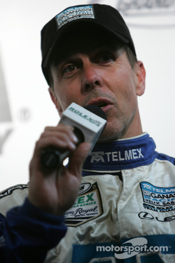 Post-race press conference: Scott Pruett