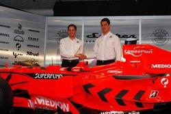 Christijan Albers and Adrian Sutil