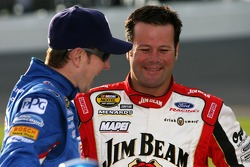 Kurt Busch and Robby Gordon