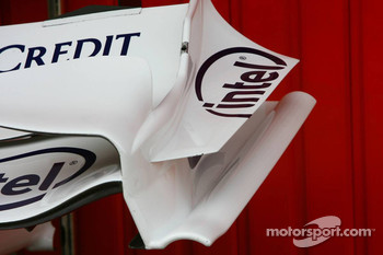BMW Sauber F1 Team, F1.07, Front wing end plate