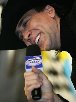 Actor Nicolas Cage, Daytona 500 Grand Marshal