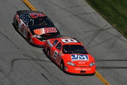 Dale Earnhardt Jr. leads Kevin Harvick