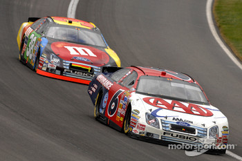 David Ragan leads David Gilliland