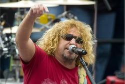 Live performance by Sammy Hagar