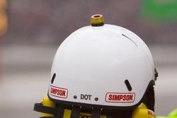Lugnut on an helmet