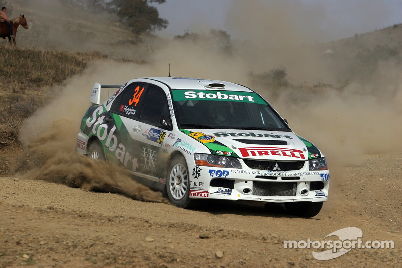 Mark Higgins and Scott Martin, Mark Higgins Mitsubishi Lancer Evo IX