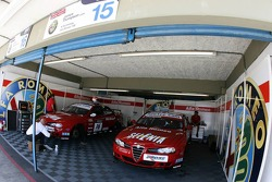 N Technology, Alfa Romeo 156, team garage