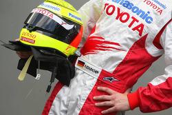 Ralf Schumacher, Toyota Racing, helmet