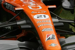 Spyker F1 Team, Announce new title sponsor, Etihad Airways