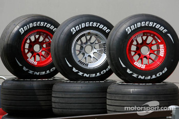 Bridgestone F1 Tyres