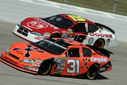 Jeff Burton and Elliott Sadler
