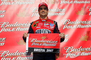 Pole winner Jeff Gordon