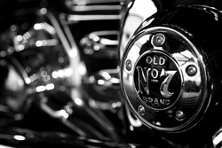 Detail of the Jack Daniel's Harley Davidson