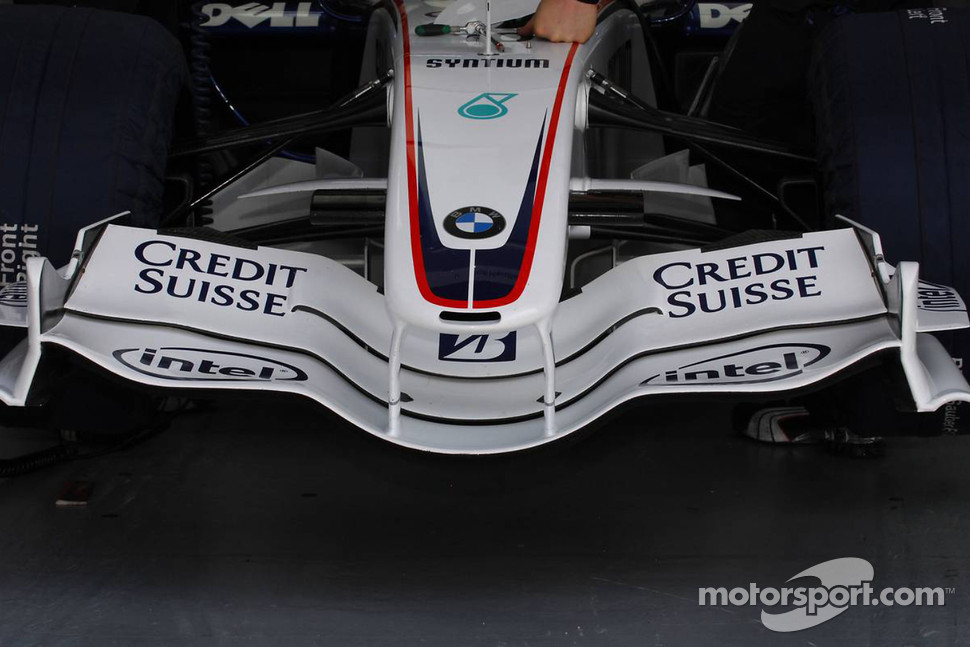 Front wing of BMW Sauber F1.07