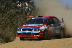 Rui Madeira and Nuno Silva, Mitsubishi Lancer Evolution IX