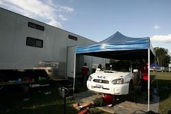 Yokohama Motorsport car of Eli Evans and Chris Murphy