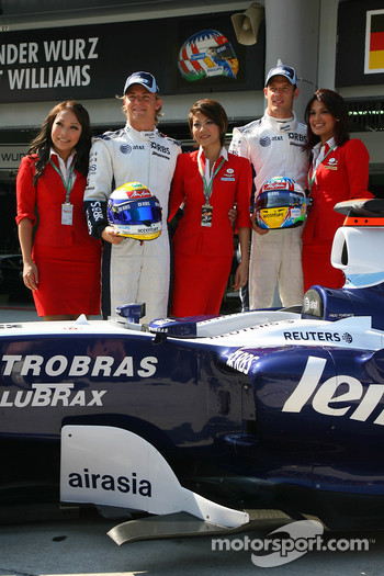 Williams F1 Team, announce Air Asia as a new partner