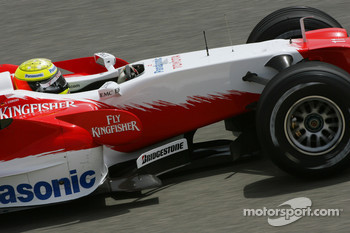 Ralf Schumacher, Toyota Racing, TF107