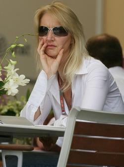 Sonia Irvine, sister of Eddie Irvine
