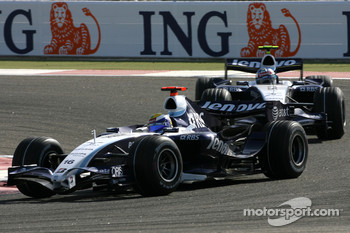 Nico Rosberg, WilliamsF1 Team, FW29, Alexander Wurz, Williams F1 Team, FW29