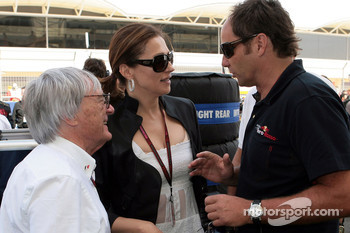 Bernie Ecclestone, Slavica Ecclestone, Wife to Bernie Ecclestone and Gerhard Berger, Scuderia Toro Rosso, 50% Team Co Owner