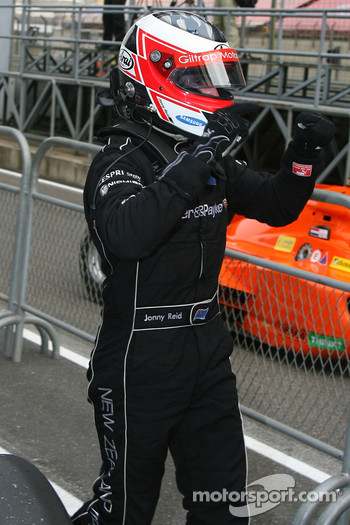 Jonny Reid, Driver of A1Team New Zealand