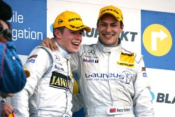 Podium, Gary Paffett, Persson Motorsport AMG Mercedes and Paul di Resta, Persson Motorsport AMG Mercedes