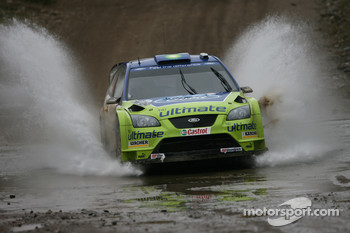 Mikko Hirvonen and Jarmo Lehtinen, BP Ford, Ford Focus WRC
