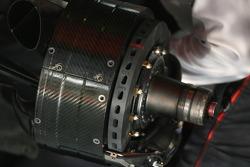 McLaren Mercedes, MP4-22, Brake drum