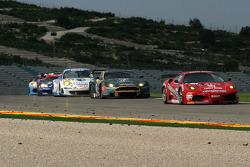 #98 Ice Pol Racing Team Ferrari F430 GT: Yves Lambert, Christian Lefort, Markus Palttala