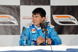 Second place Graham Rahal