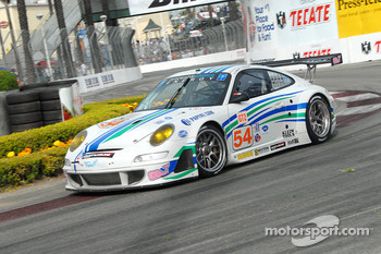 #54 Team Trans Sport Racing Porsche 911 GT3 RSR: Tim Pappas, Terry Borcheller