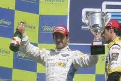 Timo Glock on the podium