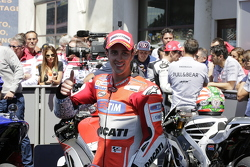 Third place Andrea Dovizioso, Ducati Team