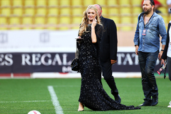 Paris Hilton at the charity football match