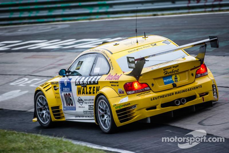 #106 MSC-Rhön e.V. in ADAC BMW 1 M Coupé: Harald Rettich, Fabrice Reicher, Dominique Nury, Richard Purtscher