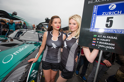 Black Falcon grid girls