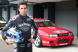 Rick Kelly in front of the R32 at Eastern Creek