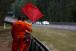 Red flag on the session
