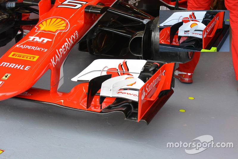 Ferrari SF15-T detail