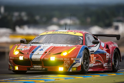 AF Corse车队83号法拉利458 GTE赛车:伊曼纽尔·克拉德、马特奥·克雷索尼、弗朗索瓦·佩罗多