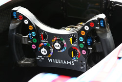 Williams FW37 steering wheel