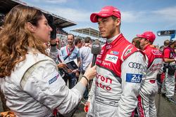 #7 Audi Sport Team Joest Audi R18 e-tron quattro: Andre Lotterer