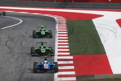 Matheo Tuscher, Jenzer Motorsport leads Seb Morris, Status Grand Prix