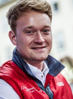#29 Audi Sport Team WRT Audi R8 LMS: Christer Jöns